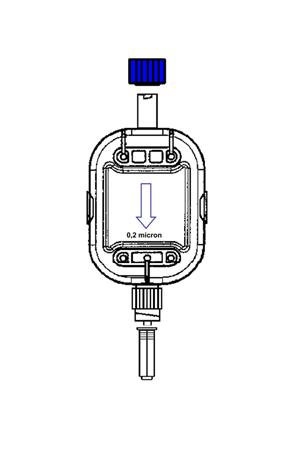 Filtro de 0.2 µm, Luer Lock M / H