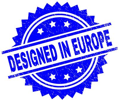 designed in europe